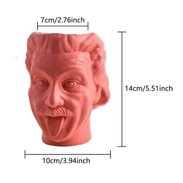 Human Head Vase Set
